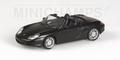 Porsche Boxster S Fulda  2002 Black  Zwart 1/43
