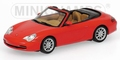 Porsche 911 Cabriolet 2001 Red  Rood  1/43