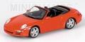 Porsche 911 Carrera S Cabriolet 2005 Red  Rood 1/43