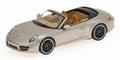 Porsche 911 Carrera Cabriolet 2012 Platin Silver Zilver 1/43