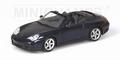 Porsche 911 Carrera 4 S Cabriolet 2003 Lapis Blue Blauw 1/43