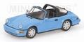Porsche 911 Targa 1991 Blue Blauw 1/43