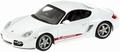 Porsche Cayman S 2005  White  Wit 1/43