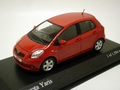 Toyota Yaris 2005  Red Rood  1/43