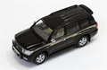 Toyota Land Cruiser 200 VXR V8 2010 Black Zwart 1/43