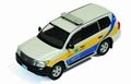 Toyota Land Cruiser Oatar Traffic Police Car Politie  1/43