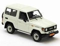 Toyota Land Cruiser 70 serie White Wit  1/43