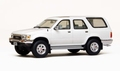 Toyota 4 Runner Hilux Surf 1989 White Wit 1/43