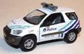 Toyota Rav4 2000 White Wit  Politie Police Bruxelles Brussel 1/43