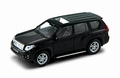 Toyota Land Cruiser Black Zwart 1/43