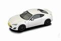 Toyota GT 86 Pearl White metallic Parel Wit 1/43