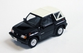 Suzuki Vitara Sidekick 1994 Black Zwart Cabrio + soft top 1/43
