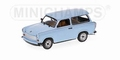 Trabant 601 S Universal Light Blue  Licht Blauw  1/43