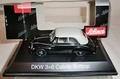DKW 3 + 6  Cabrio + Softtop  Black Zwart 1/43
