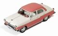 Volga  M21 1958 Pink White Rose Wit 1/43