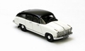 Borgward H2400  White  Black   Wit  Zwart 1/43