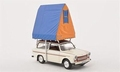 Trabant 601S Universal 1980 Camping Tent 1/43