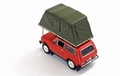 Lada Niva With roof tent 1981 Red  Rood  1/43