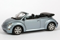 VW Volkswagen new Beetle Light Blue Licht Blauw Cabrio 1/43