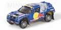 VW Volkswagen Touareg Paris Dakar Presentation 2004 Red Bull 1/43