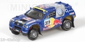 VW Volkswagen Touareg Paris Dakar 2005 #317 Red Bull 1/43