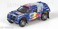 VW Volkswagen Touareg Paris Dakar 2005 #307 Red Bull 1/43