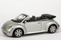 VW Volkswagen new Beetle  Slver metallic Zilver Cabrio 1/43