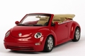 VW Volkswagen new Beetle Red Rood Cabrio 1/43