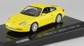 Porsche 911 Carrera 4 Coupe 2001 Yellow Geel 1/43
