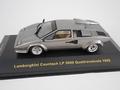 Lamborghini Countach LP 5000 Quattrovalvole  1988 Grey Grijs 1/43