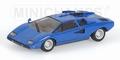 Lamborghini Countach LP400 Blue Blauw  1/43