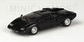 Lamborghini Countach LP400 Black Zwart 1/43
