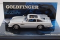 Aston Martin DB5 James Bond + figuren Figuur Goldfinger 1/43