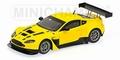 Aston Martin  V12 Vantage GT3 Yellow Geel 2012 1/43