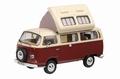 VW Volkswagen T2a Brown Beige Bruin Beige Camper Mobile home 1/43