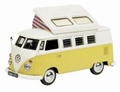 VW Volkswagen T1 Yellow White Geel Wit Camper Mobile home 1/43