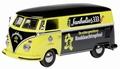 VW Volkswagen T1 Black Yellow - Zwart Geel 1/43