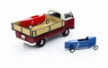 VW Volkswagen T2a Pick up + 2 zeepkisten racers 1/43