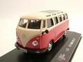 VW Volkswagen T1 Samba bus red beige  Rood beige 1/43