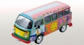 VW Volkswagen T2  Combi 1976 Hippie car 1/43
