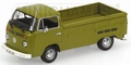 VW Volkswagen T2  Pick up Green Groen 1972 1/43