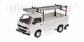 VW Volkswagen T3 met ladder Wit -  white 1/43