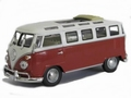VW Volkswagen Micro bus T1 1962 Red White  Rood Wit 1/43