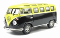 VW Volkswagen T1 Bus Lowrider Black Yellow  Zwart Geel 1/43