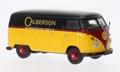 VW Volkswagen T1  Bus Calberson Geel Rood Zwart 1/43