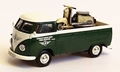 VW Vokswagen Zundapp Pick up bus + moto 1/43