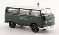 VW Volkswagen T2 a Bus Polizei Police Polite  1/43