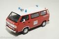 VW Volkswagen T3b Brandweer  Feuerwehr 112 Red Rood 1/43