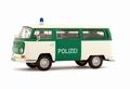VW Volkswagen T2 Bus Polizei Police Politie  1/43