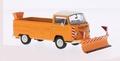 VW Volkswagen T2 a Winterdienst Pick up Orange Oranje 1/43